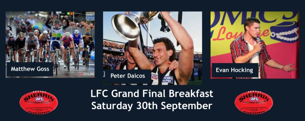 LFC 2017 AFL Grand Final Breakfast