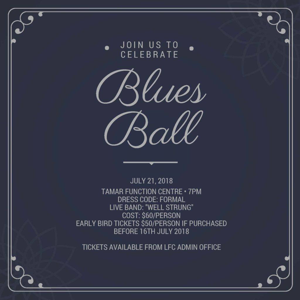 2018 Blues Ball