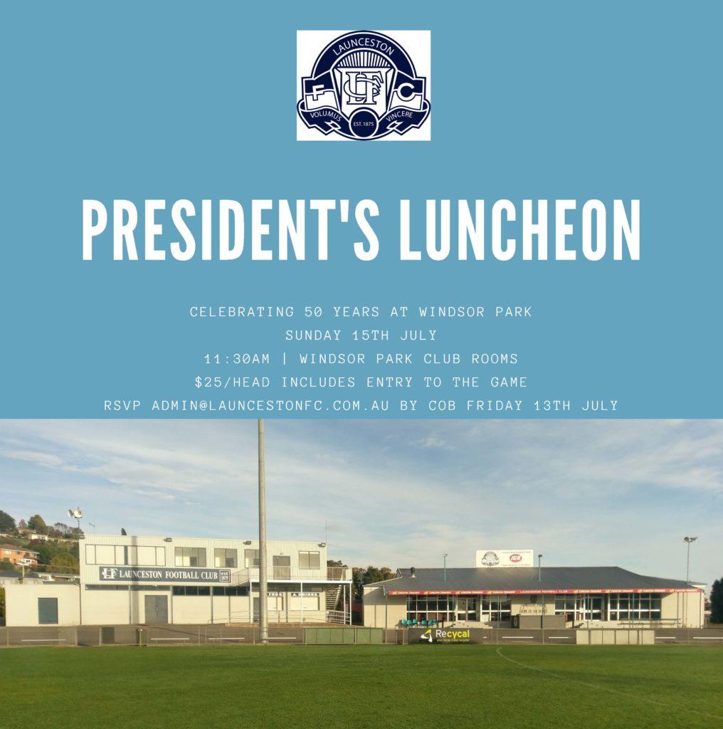 2018 President's Luncheon