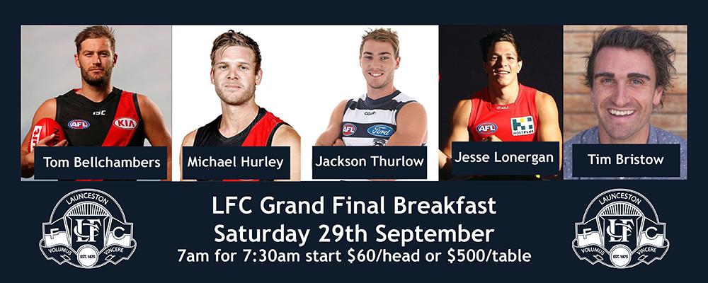 LFC Grand Final Breakfast